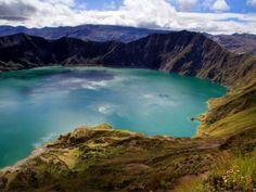 laguna de quilotoa equador !