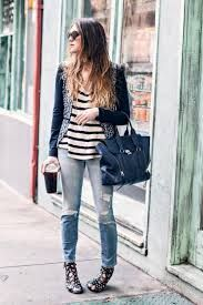 Image result for how to wear stripes