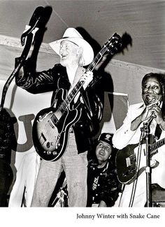 Johnny Winters and Muddy Waters