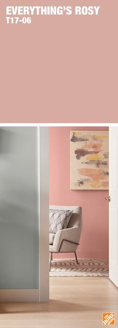 Bring sophistication to your paint projects with this cosmetic rose tone. Learn more about Behr's 2017 Colour Trends at HomeDepot.ca: http://hdepot.ca/2unvaYU