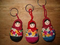 Baboeska's op het  blog van Tijm, Kantsteek en Co: januari 2010. Met link naar patroon