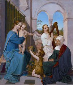 Peter von Cornelius - The Holy Family 1809/1811