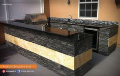 What's your style? Do you prefer a modern or traditional kitchen? Yard Crashers, What's Your Style, Traditional Kitchen, Outdoor Living, Kitchen Island, Outdoor Kitchens, Modern, Bar, Amazing