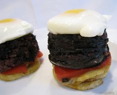 Easy Tapa of Morcilla and Roasted Pepper and Potato: So Tasty! It's like Spain on a plate!