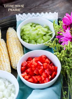 Old-Fashioned Creamed Corn Recipe - Little House on the Prairie Homemade Dinners, Depression Era Recipes, Creamed Corn Recipes, Company Dinner, Dried Plums, Classic Literature, Side Dishes, Appetizers, Cooking Recipes