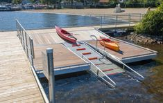 Kayak Launch Docks | Dock & Launch Systems by The Dock Doctors | Commercial & Residential