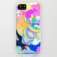 Adventure Time iPhone & iPod Case by Jen Mundy - $35.00