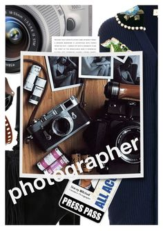 """""""Dream Job: Photographer"""" by cultofsharon ❤ liked on Polyvore featuring Yves Saint Laurent, Gucci, Eos and Kodak"""