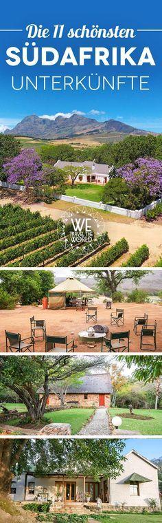 Südafrika Reise: Unsere schönsten Unterkünfte von Johannesburg bis Kapstadt für deinen Südafrika Roadtrip.