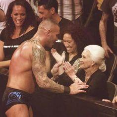 Randy Orton & his Mom