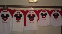 Disney Mickey Mouse and Minnie Mouse by creationsbyJeanne on Etsy
