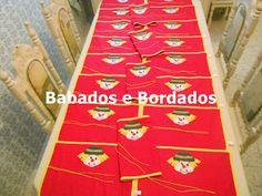 Babados & Bordados: Patati-Patatá : Kit Lanche,Personagens,Mochilas,Ca...
