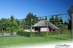 Eikenhouten carport met rieten dak   carport   Pinterest