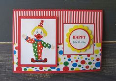 Boys Handmade Birthday Card by BubbleDesigns4 on Etsy