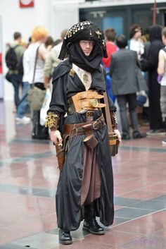 steampunk pirate - arabian influences