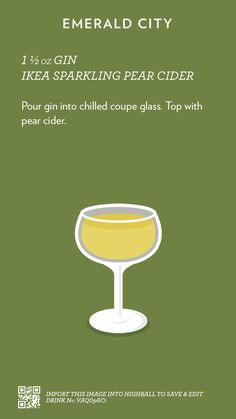 Wine Cocktails, Bar Drinks, Cocktail Drinks, Yummy Drinks, Cocktail Recipes, Alcoholic Drinks, Beverages, Mixed Drinks Alcohol, Alcohol Drink Recipes