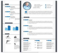 CV design 221. Gebruik dit CV ontwerp om je eigen CV te laten pimpen. www.mooicv.nl