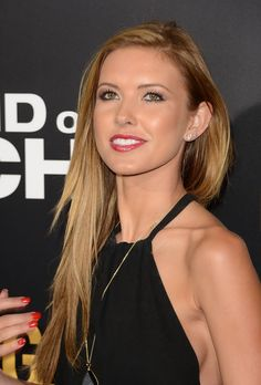 Audrina Patridge light brown/dark blonde is what I want to do.......I think......