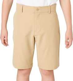 Slazenger Boys' Core Golf Shorts, Size: Medium, Mid Khaki Informations About Slazenger Boys' Core Go Golf Stance, Golf Umbrella, Golf Wear, Golf Pants, Golf Fashion, Mens Golf, Play Golf, Long Shorts, Golf Outfit