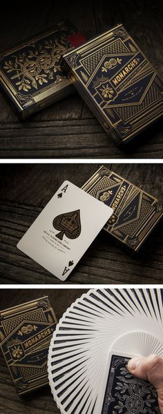 Printed on Q1 stock and featuring an exquisite Premium 909 finish, these playing cards are considered by many to be the finest in print today. The elegant packaging and detailed design makes these luxury cards the perfect gift for any magician/card collector/player! #colossal