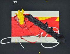 """L'arte di Vittorio Amadio: Tengo e Aomame. Il Murakami che dipingo: """"Donne che si scambiano segreti"""""""