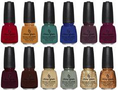 Fall nail colors!