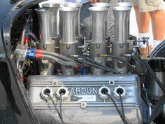 Fuel injected Ardun head flathead overhead valve conversion-Bonneville 2012