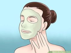 How to Do a Facial at Home. A good facial leaves your facial skin smooth, bright and flushed. It's fun to get a facial at a spa, but you can get the same great results in the comfort of your home without spending any money. Facial Tips, Facial Care, Facial Scrubs, Facial Masks, Home Facial Treatments, Tumeric Hair, Homemade Acne Treatment, Back Acne Treatment, Acne Causes