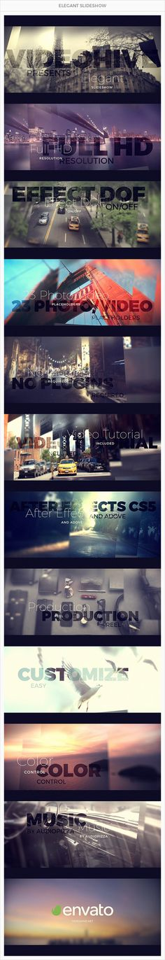 Elegant Slideshow - After Effects Project Files | VideoHive