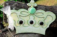 Albun base de madera con detalles de gemas tul de decapado ideal 15 años