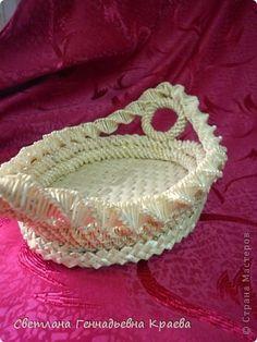 Поделка изделие Плетение Изделия из соломки Соломка фото 4