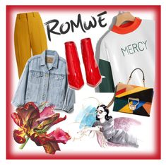 """""""crazy retro 🍁🍁🍁🍁"""" by besio ❤ liked on Polyvore featuring Chloé, Gap, Gianvito Rossi and Justine Clenquet"""