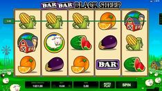 Ігровий автомат Bar Bar Black Sheep присвячений пригодам чорної вівці. Виграти в ньому реальні гроші допоможуть п'ять барабанів з 15 лініями. Отримувати більше призів в апараті допоможуть фріспіни і бонусна функція. Black Sheep