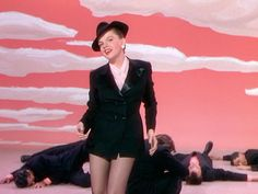 """Come on, get happy!  Judy Garland, """"Summer Stock"""" (1950)."""