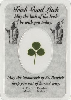 The Luck of the Irish to You on Saint Patrick's Day! by Photo_History, via Flickr