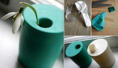 Balloon + Glass = Vase