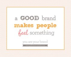You are your brand. A great post by www.jennycrugerphotography.com via  www.girlheartscamera.com