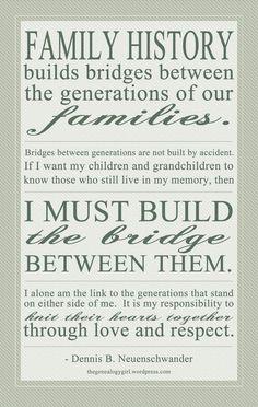I must build the bridge between them