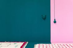 Beni Ourain grid rug