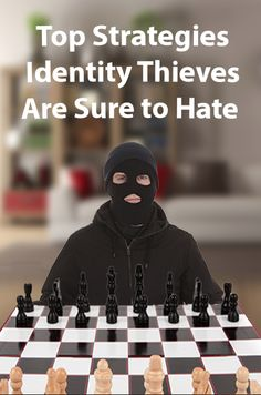 Protecting your information from #identitytheft is all about anticipating a criminal's next move.