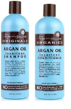 Renpure Organics Argan Oil Shampoo  Conditioner 16 oz Pack of 2 *** For more information, visit image link.Note:It is affiliate link to Amazon.