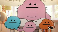 The Amazing World of Gumball Gumball Darwin Anais Funny daily Anime Imagination creativity over-fancy mind Brain hole 阿甘妙世界 Cartoon Icons, Cartoon Memes, Cartoon Characters, Cartoons, Cartoon Network, Amazing Gumball, Bd Art, Pokerface, Cute Cartoon Wallpapers