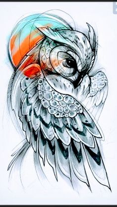 Pin by cindy jay on to be tattoos, tattoo drawings, owl tattoo design. Trendy Tattoos, Unique Tattoos, Cool Tattoos, Symbolic Tattoos, Unique Animal Tattoos, Popular Tattoos, Owl Tattoo Design, Best Tattoo Designs, Owl Tattoo Drawings