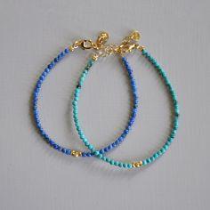 Vermeil, turquoise ou lapis lazuli véritables.  http://ticha.bigcartel.com