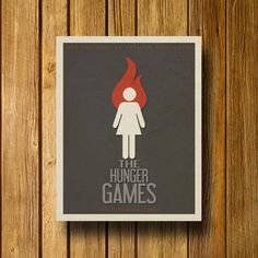 The Hunger Games Minimalist Movie Poster
