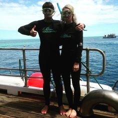 Australia Day celebrated in style on the Great Barrier Reef! #scubadiving #stingersuits #jellyfish #australiaday #greatbarrierreef #whitsundays #sevenwondersoftheworld #reef by triciaoc90 http://ift.tt/1UokkV2
