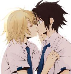 Yuu and Mika #owarinoseraph