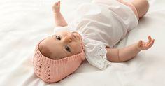 Patron tricot: un béguin pour bébé
