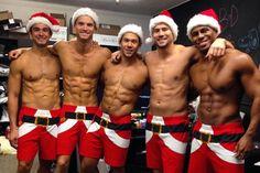 Here a Santa there a Santa