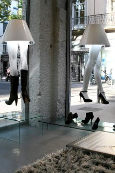 Agencement d'un magasin de chaussures à Lyon